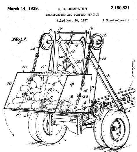 U.S. Patent 2,150,821 Figure 1
