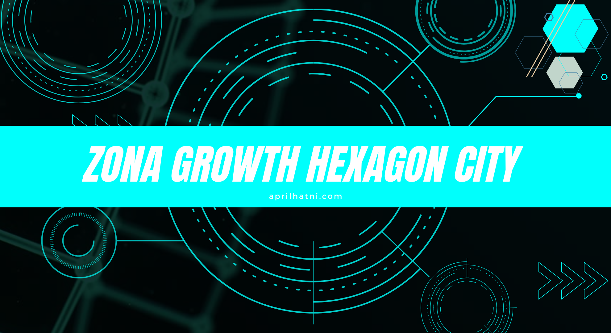 zona growth hexagon city