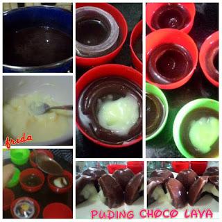 Resep Puding Choco Lava Vla Susunya Kental