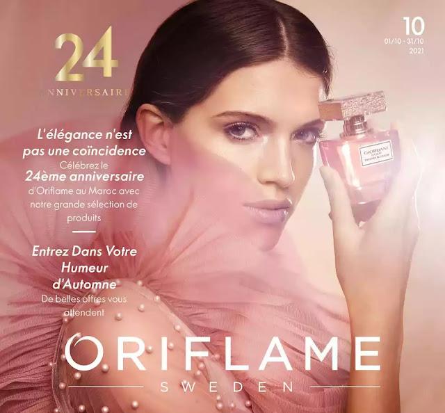 catalogue oriflame maroc octobre 2021