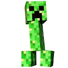 Minecraft Foam Creeper ThinkGeek Item