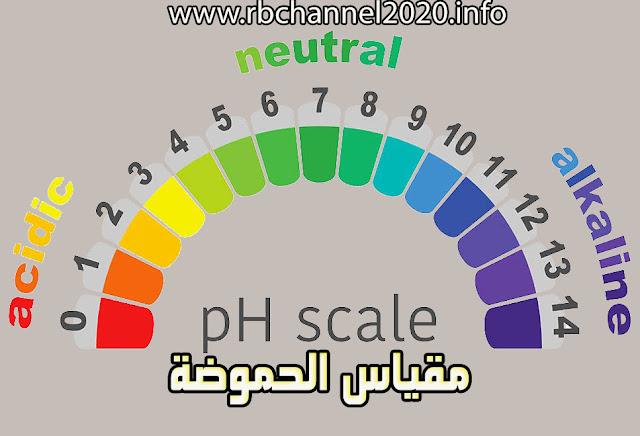 مقياس درجة الحموضة pH الأس الهيدروجيني | طرق قياس الph وأهميته