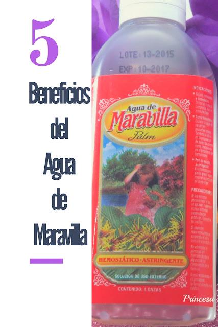 5 Beneficios del Agua de Maravilla o Agua de Hamamelis