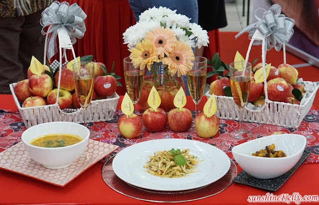 Amboi, Ambrosia Apples, Chef Wan, Apple Recipes, Apple, Ambrosia Apple Recipe, Ambrosia Grilled Calamari Salad, Tom Yum Pumpkin Soup with Ambrosia Apples, Ambrosia Apple Chutney, Fruits, Healthy Lifestyle, Food