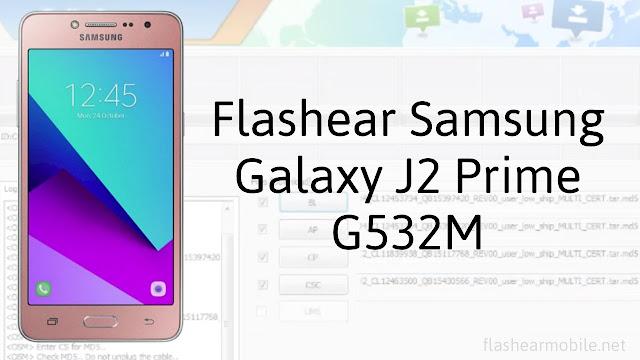 Flashear Samsung Galaxy J2 Prime G532M
