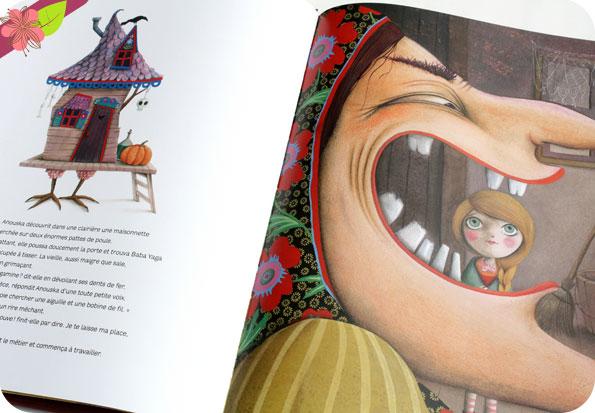 Baba Yaga de Christine Palluy et Marie Desbons - éditions Milan