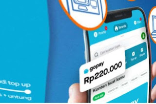 Link Download Gopay Mod APK Saldo Tanpa Batas - Unlimited?