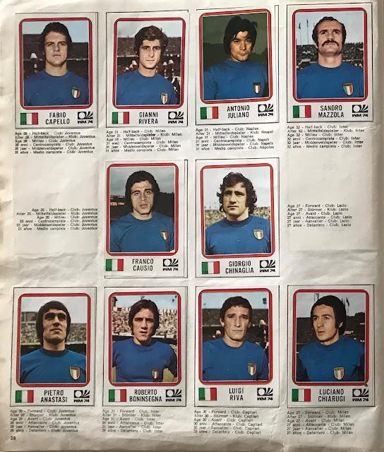 Figurine Italia Monaco '74