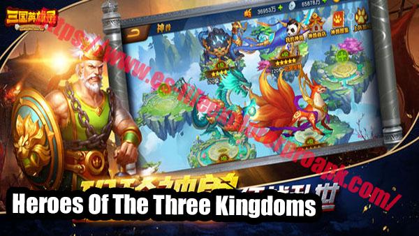 Heroes Of The Three Kingdoms apk