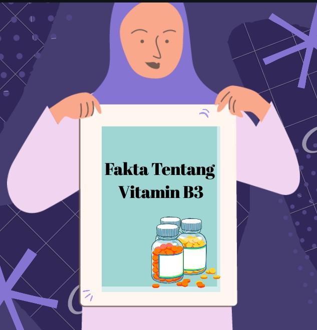 Manfaat vitamin B3 untuk kulit
