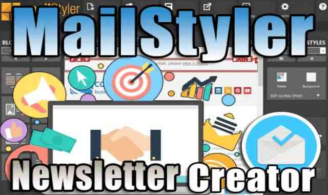 تحميل برنامج MailStyler Newsletter Creator Pro عملاق تصميم النشرات التسويقية اخر اصدار مفعل