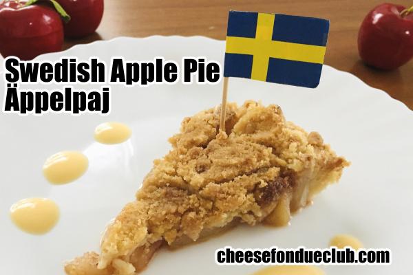 スウェーデンのアップルパイ、Äppelpaj