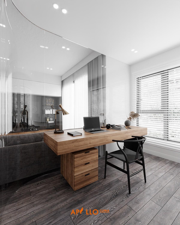 Thiết kế nội thất căn 2PN+1 (63m2) S3.01-15A Vinhomes Smart City Tây MỗThiết kế nội thất căn 2PN+1 (63m2) S3.01-15A Vinhomes Smart City Tây Mỗ
