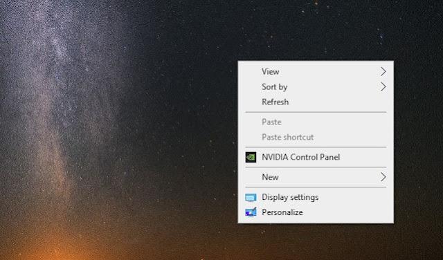 Cara Menambahkan Control Panel ke Desktop Windows 10 Klik Kanan