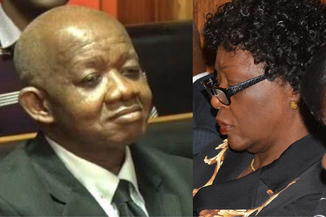 Justice Adeniyi Ademola and his wife