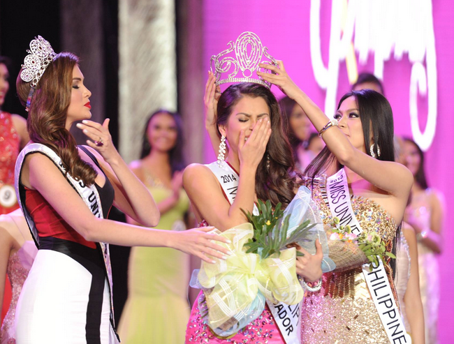 Mary Jean Lastimosa Wins as Miss Universe Philippines 2014.