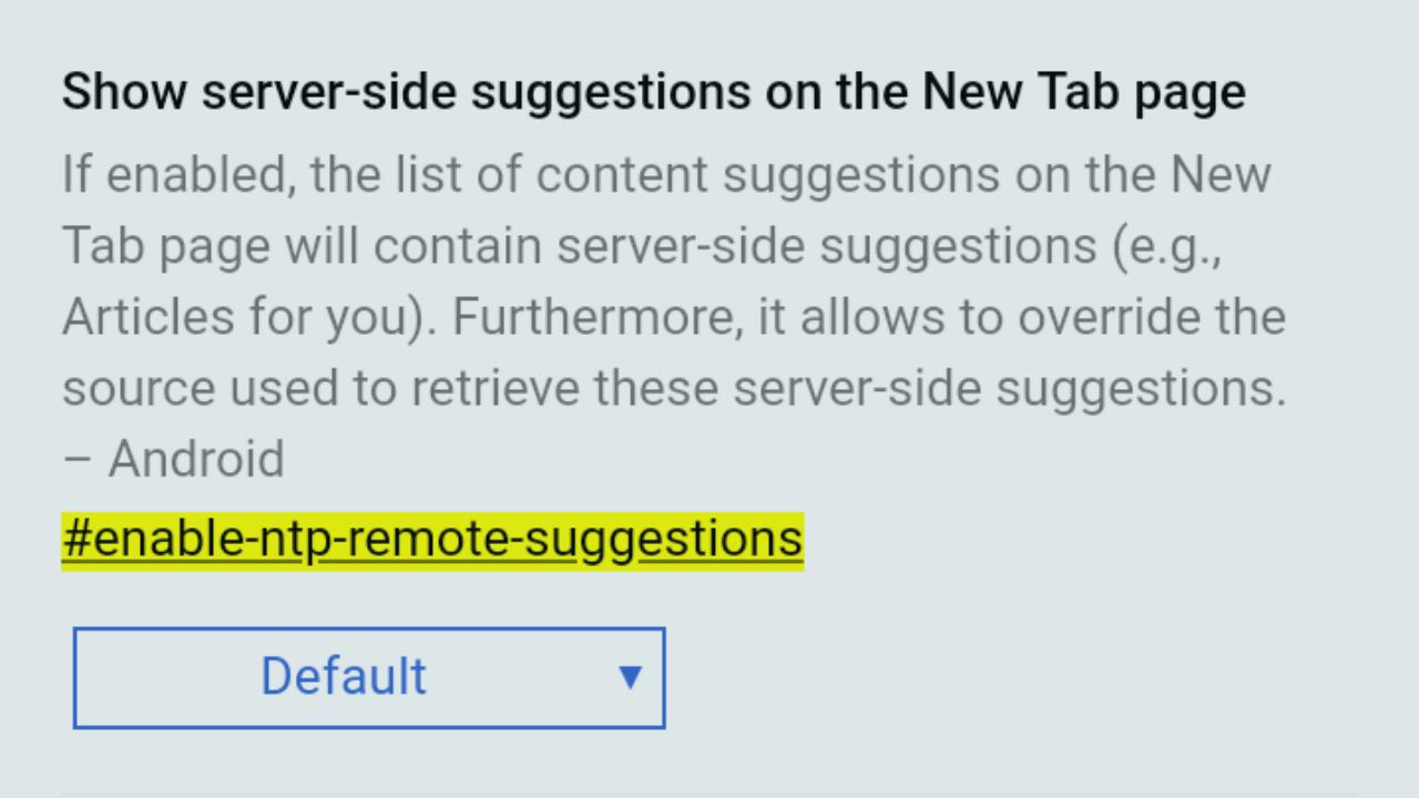 Cara Menghilangkan Artikel Yang Disarankan Pada Browser Google Chrome Android