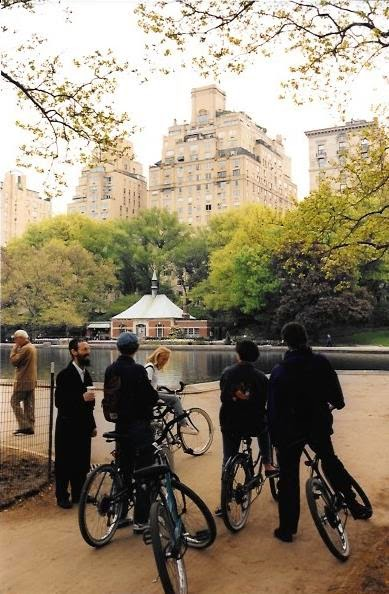 bike tour of Central Park in NYC