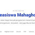 Beasiswa Mahaghora Dalam Negeri