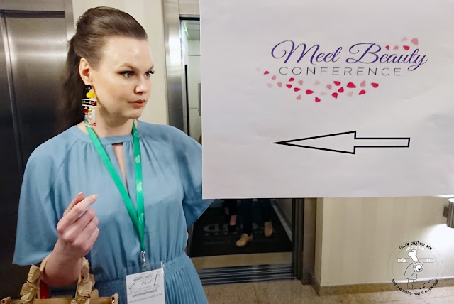 blogger beauty cosmetics conference #polishgirl