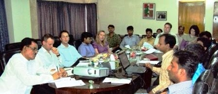 Meeting with DFID Team