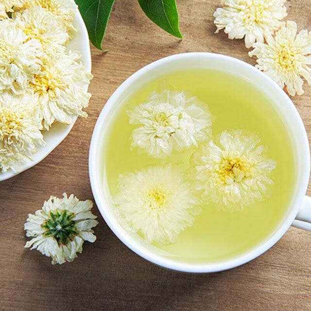 Thé au chrysanthème