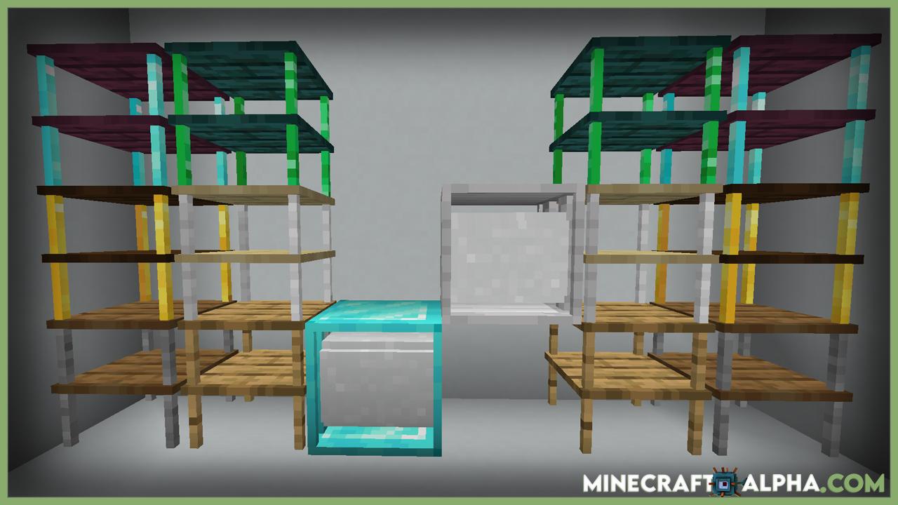 Storage Racks Mod For Minecraft 1.17.1