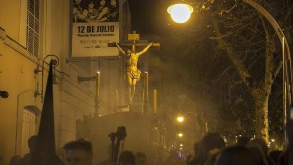 Los Dolores y Buena Muerte, las únicas hermandades que saldrán hacia la izquierda desde Carrera Oficial cordobesa
