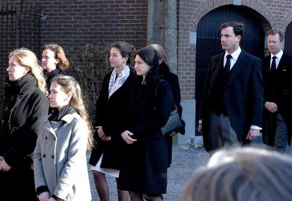 Grand Duke Jean, Grand Duke Henri, Grand Duchess Maria Teresa, Princess Margaretha and Prince Laurent