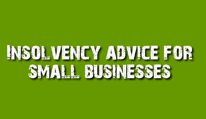 Insolvency advice for small businesses