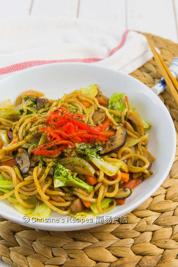 日式炒麵 Yakisoba Japanese Stir Fried Noodles04