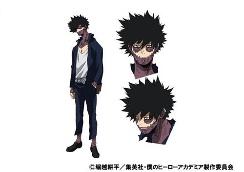 ดาบิ (Dabi) @ My Hero Academia: Boku no Hero Academia มายฮีโร่ อคาเดเมีย