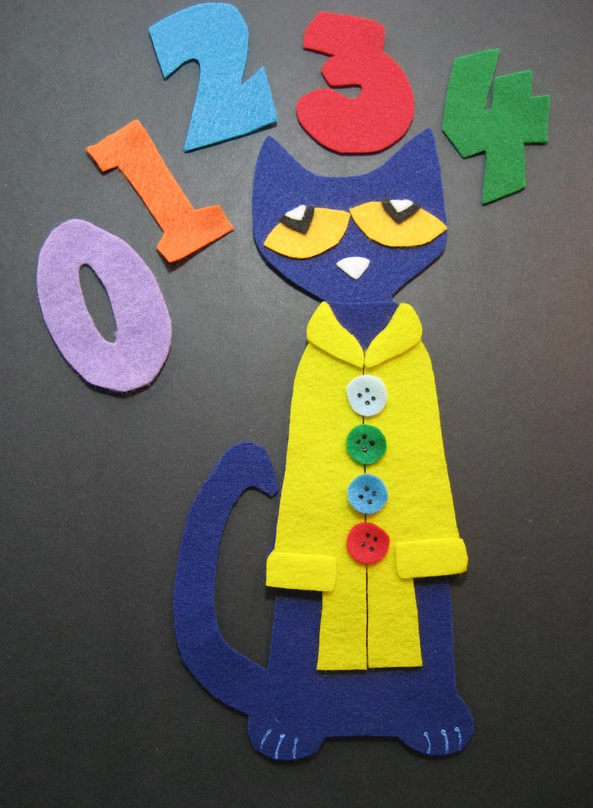 Flannel Board Fun Pete The Cat S 4 Groovy Buttons