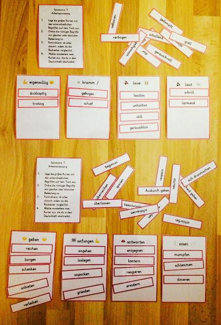 Immer die gleichen Wörter: Synonyme helfen Teil 3+4