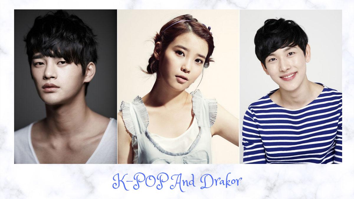 artis k-pop yang juga piawai berakting dalam drakor