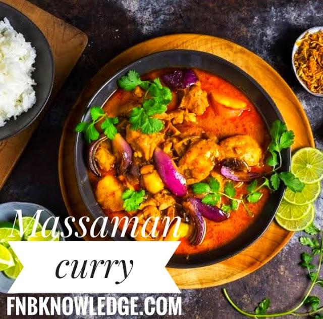 Thai Curry : Chicken Massaman Curry