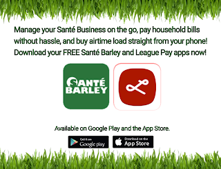 Sante Barley and League Pay Apps