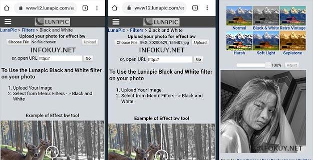 Cara Edit Foto Hitam Putih Secara Online