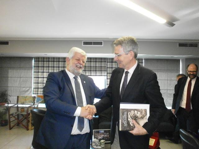 Την Τρίπολη επισκέφθηκε ο Αμερικανός πρέσβης
