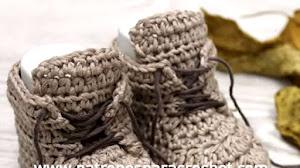 Botas Para Bebe ~ Baby Booties / Tutorial Crochet