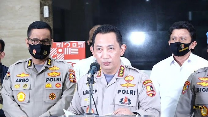 Jokowi Tunjuk Kabareskrim Listyo Sigit Prabowo Jadi Calon Kapolri