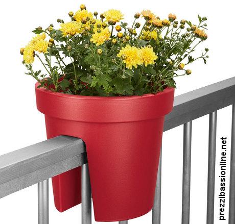 Vaso da ringhiera per fiori da lidl for Vasi da ringhiera