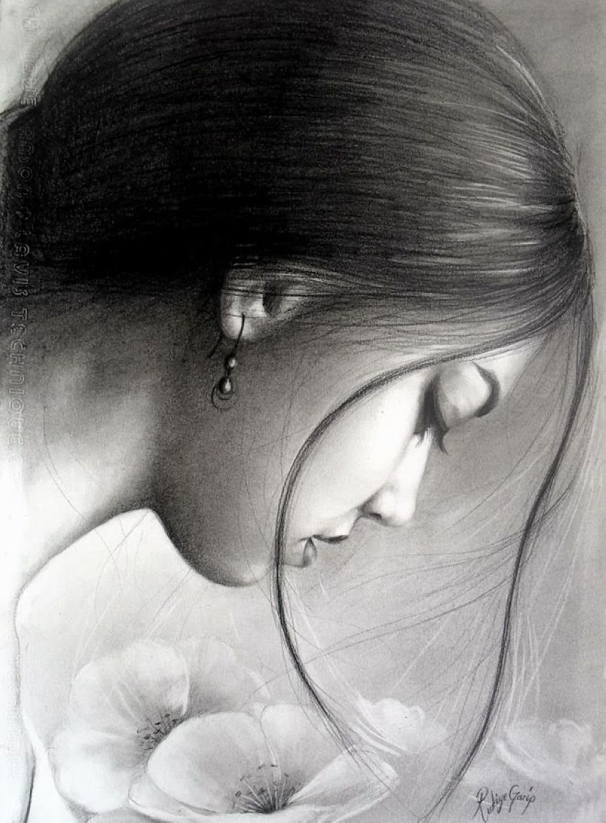 Wonderful Charcoal Art: Selection of Beautiful Coal Drawings