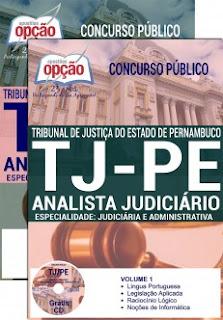 Apostila TJPE 2017 Analista Judiciário