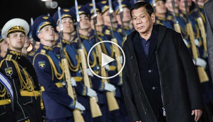 Ang Mainit na Pagsalubong ni Duterte sa Russia