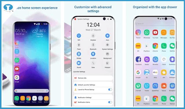 رائع حول هاتفك بالكامل إلى هاتف جالاكسي s10  الرائع بضغطة زر واحدة – التطبيق الأخير خرافي ستحتاجه حتما