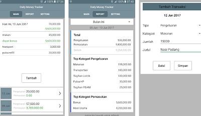 aplikasi android pengatur keuangan bahasa indonesia