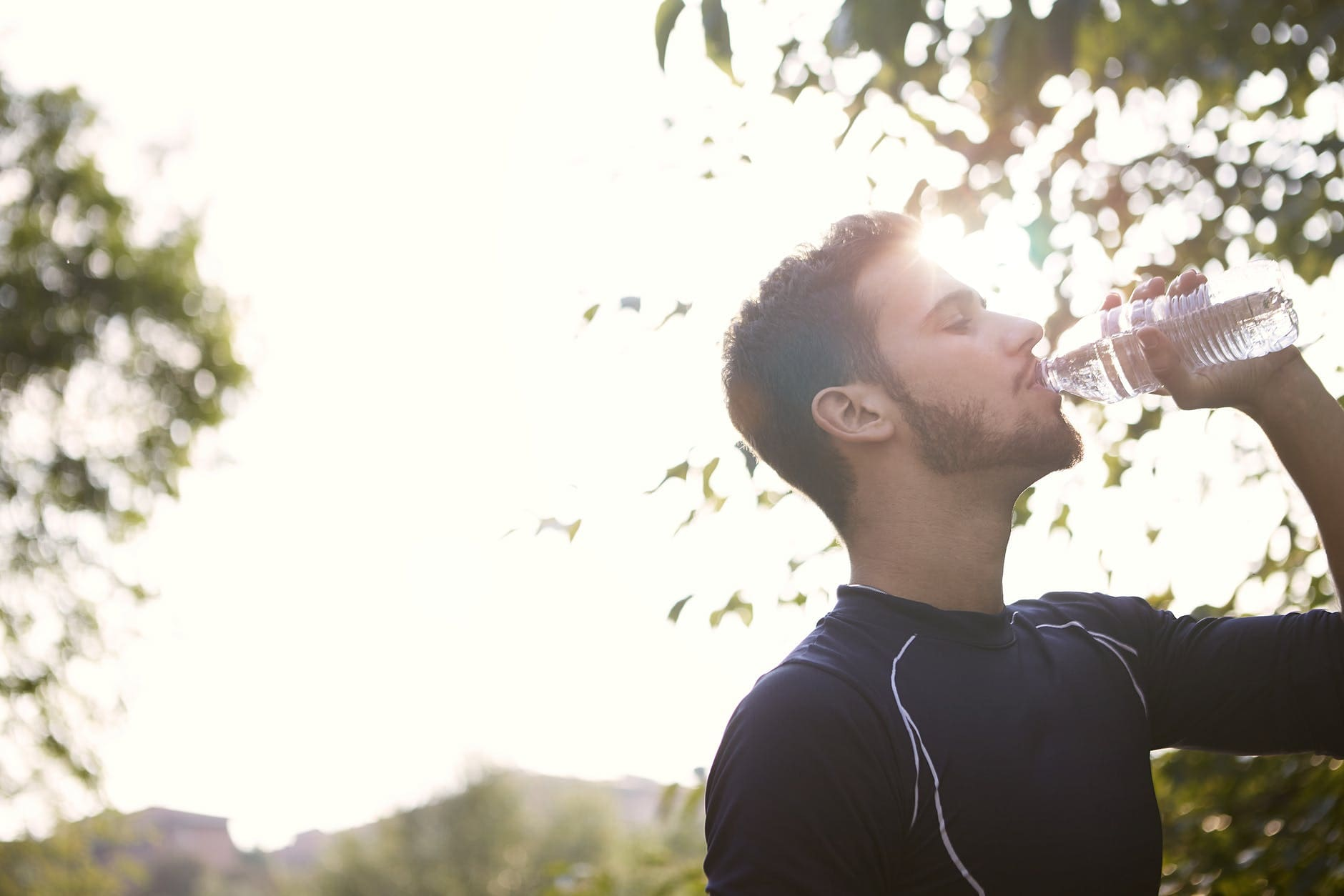 What are the symptoms of dehydration in adults?