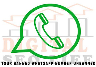How to unbanned whatsapp number - Digital Seo Life your banned whatsapp number unbanned