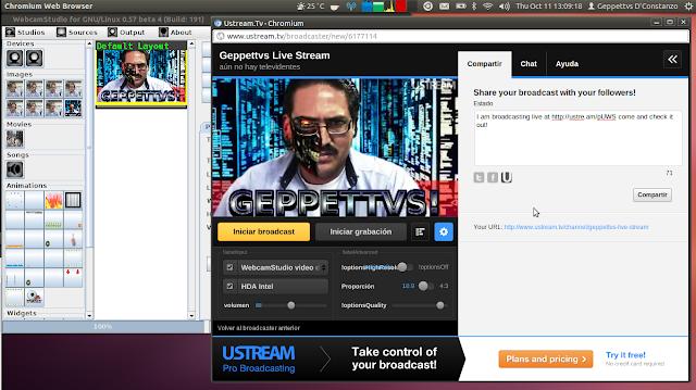 Como instalar o WebCam Studio no Ubuntu, Linux Mint, Elementary, Fedora ou derivados!